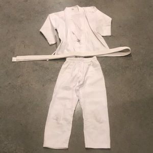 Other - White Karate Jacket, Pants, And Belt.